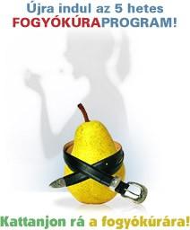 Ingyenes fogyókúra program - Öt hét alatt öt kiló mínusz