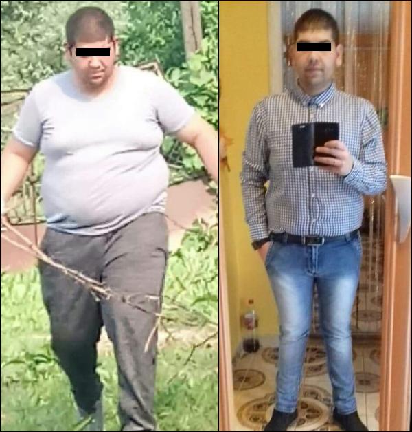 55 éves fogyás középkorú ember zsírégetés