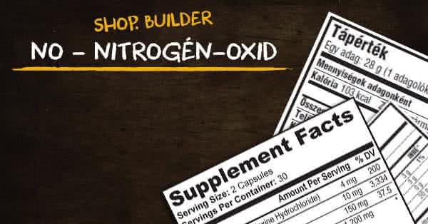 zsírégető nitrogén- oxid
