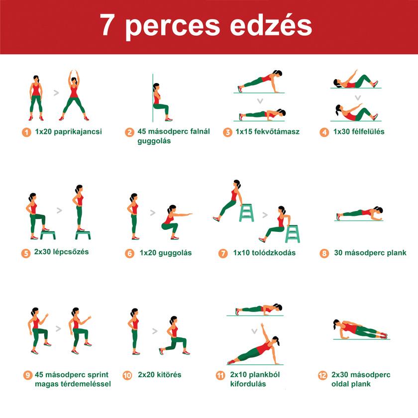 4 napos zsírégető edzésterv