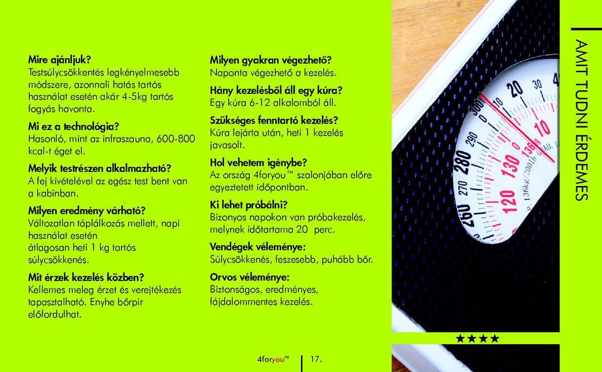 Sikertörténet – 7 hónap alatt 27 kg fogyás – Dr. Giller Myriam akupunktúrás rendelője