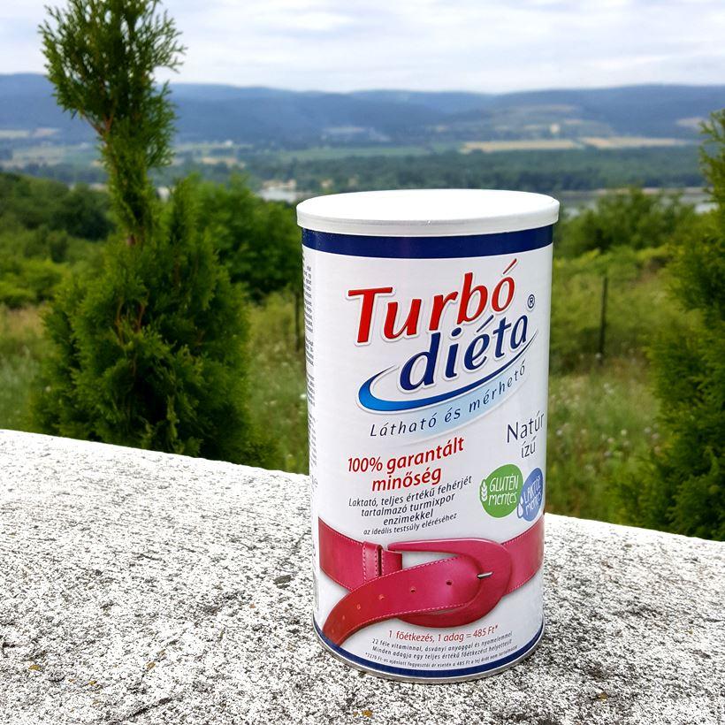 Turbó Diéta fehérje turmixpor enzimmel natúr ízű 525 g