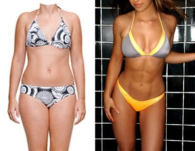 változik- e a test alakja a fogyás következtében?
