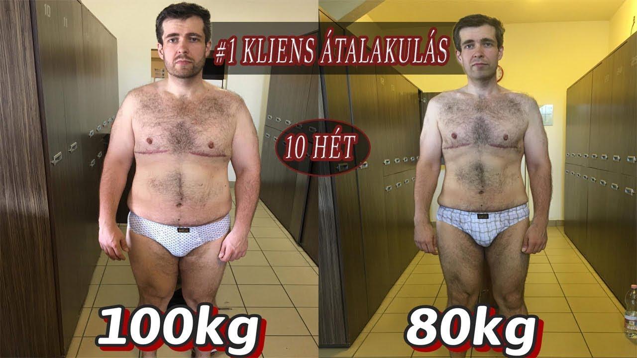 10 kg súlycsökkenés 3 hét alatt