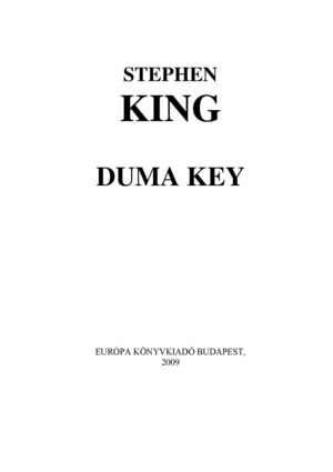Calaméo - Stephen King - Duma Key