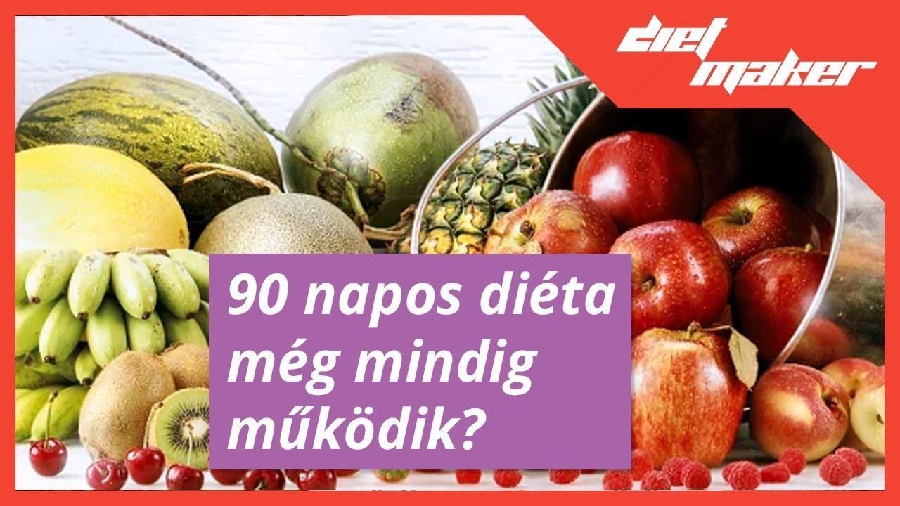 90 napos diéta