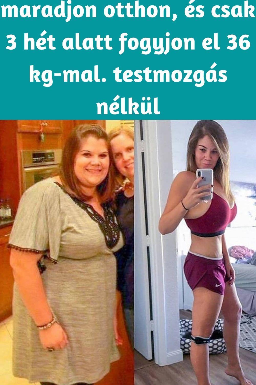 2 hét alatt elveszíti 2 kg zsírt 5 testzsírt kell veszítenie