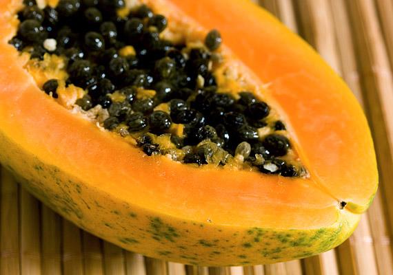 papaya miatt lefogy