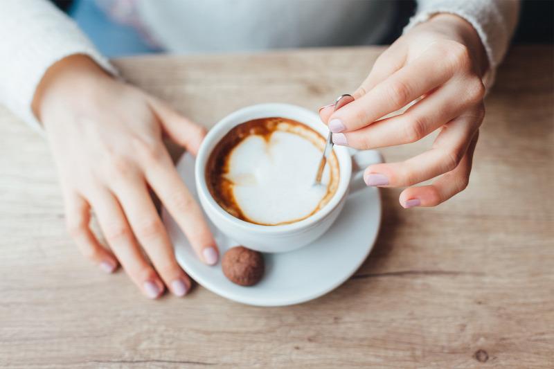 egy csésze kávé fogyás