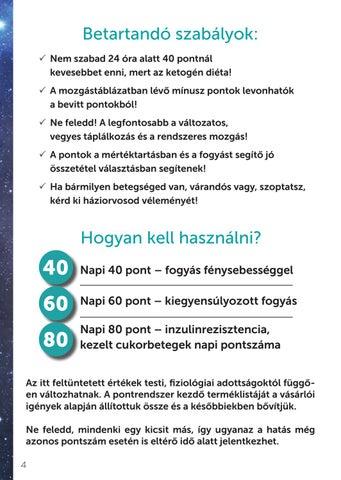 norbi űrhajós diéta teletál