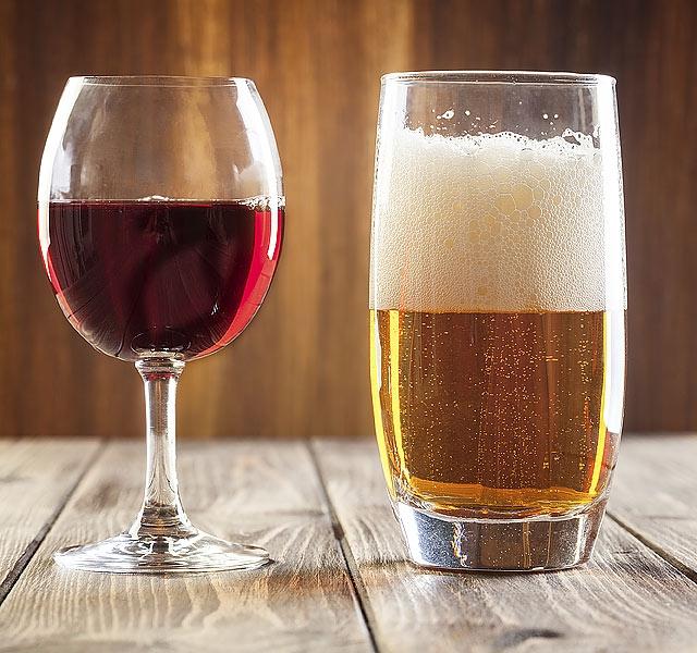 Fogyás vs. alkohol