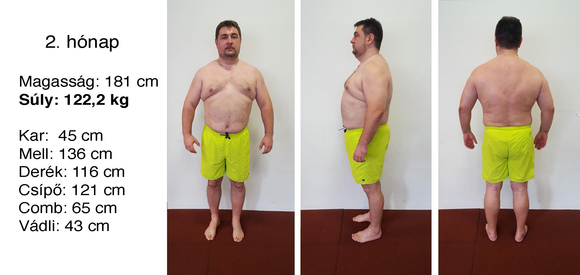 Közel 20 kilót fogyott 8 hónap alatt: így csinálta