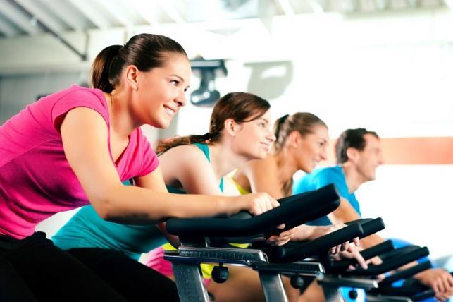 zsírégető spinning edzés